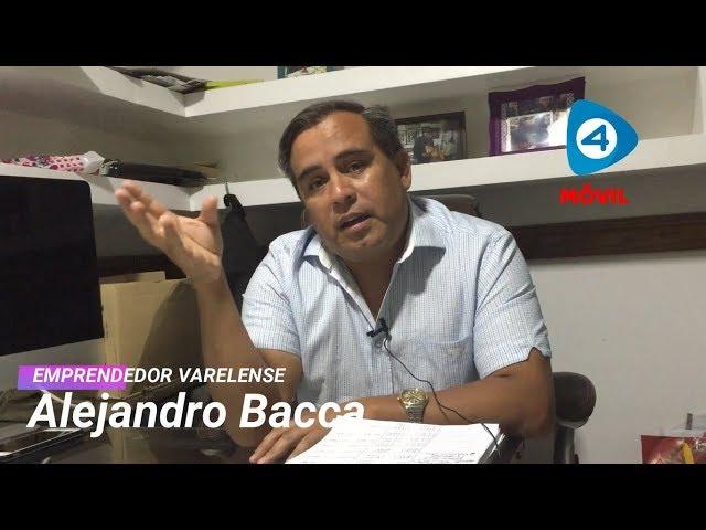 """Alejandro Bacca: """"Las casas para las familias las voy a comprar de corazón"""""""