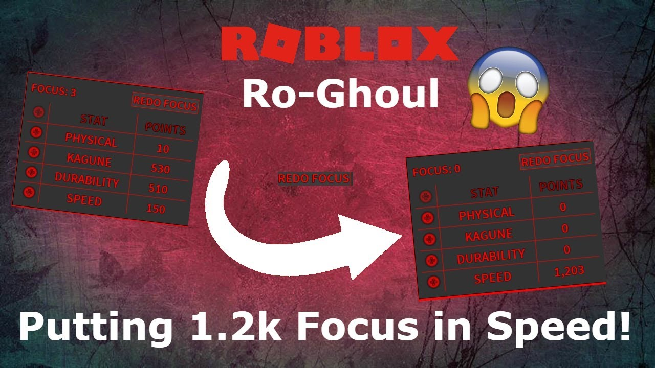 Roblox Ro Ghoul Getting 1 2k Speed Youtube - roblox user stats