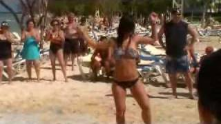 RIU Montego Bay Jamaica- DANCE OFF GIRL