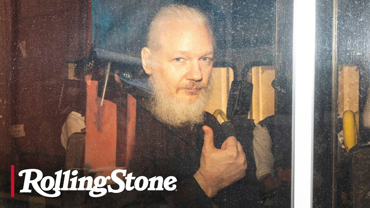 Julian Assange Arrested in London on U.S. Extradition Warrant   RS News 4/11/19