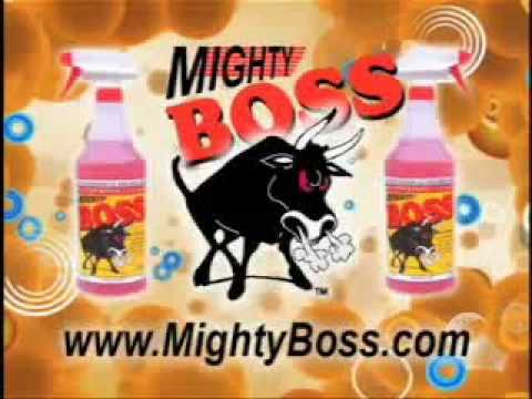 Mighty Boss Cleaner Commercial Youtube