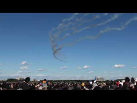入間基地航空祭2009 Blue Impulse  AirShow at Iruma A.B. Japan part1