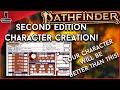 Pathfinder 2e Character Creation | GameGorgon