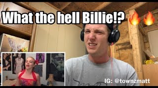 Who is Billie Eilish!?! 🧐🧐 - bad guy (with Justin Bieber) - REACTION