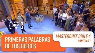 Las primeras palabras de los jueces   MasterChef Chile 4   Capítulo 1