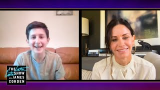 The One Where Courteney Cox Surprises a 13-year-old 'Friends' Super Fan