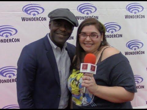 Timeless star Paterson Joseph (Connor Mason) at WonderCon 2018 | yael.tv