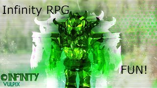 ROBLOX | Infinito RPG | Jogabilidade 1 | Nível 63!!
