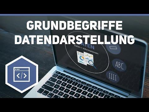 Grundbegriffe Datendarstellung - Daten- und Zeichendarstellung 1 ● Gehe auf SIMPLECLUB.DE/GO from YouTube · Duration:  4 minutes 59 seconds