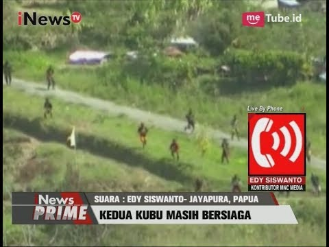 Bentrok Pendukung 2 Bupati Di Puncak Jaya Pecah, 1 Orang Tewas Part 01 - INews Prime 03/07