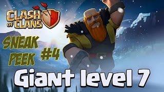 ATTAQUE Géants Level 7 / Giants lvl 7 GAMEPLAY ! | Clash Of Clans Noël 2014 | Sneak Peek #4 |