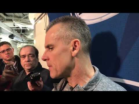 Billy Donovan Postgame Interview / Thunder vs Knicks / Dec 16