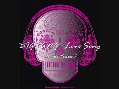 BIGBANG - Love Song (Female Version) + Lyrics!
