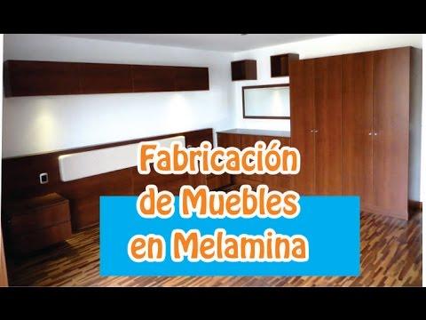 Amoblado de dormitorio fabricacion de muebles en for Programa para disenar muebles de melamina