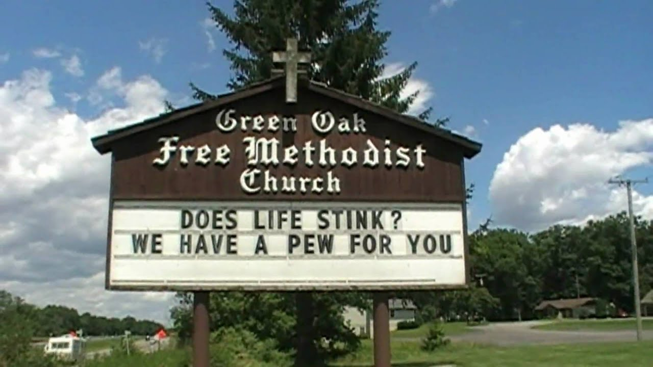 Funny church signs dogs go to heaven