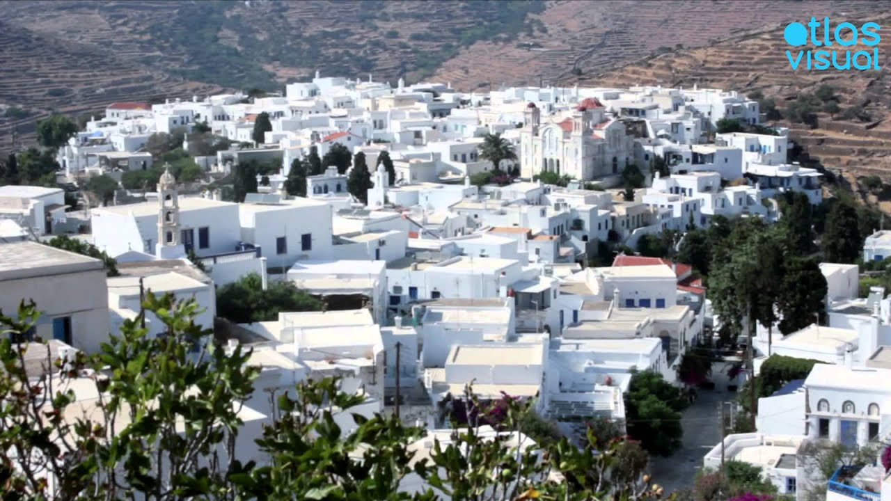 Tinos Greece Pyrgos AtlasVisual YouTube