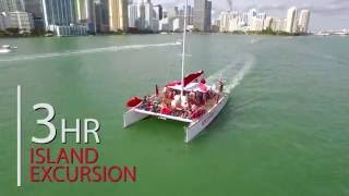South Beach Party Boats - Sailing Yacht Parties
