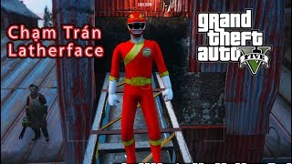GTA 5 Mod - 5 Anh Em Siêu Nhân Gao Ranger Điều Tra Về Leatherface
