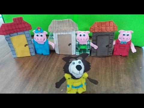 Dedoches Os Tres Porquinhos Youtube