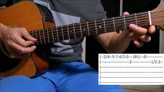 meio caminho andado enzo rabelo aula solo violão como tocar