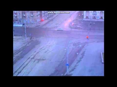 Видео: вратарь сборной России протаранил дом, скрываясь от полиции