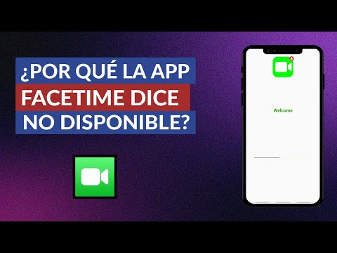 Por qué Facetime NO Funciona | NO se Conecta | Dice NO Disponible