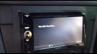 Sony XAV-63 Video Converted ( youtube )