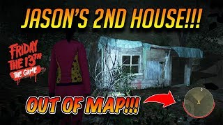 Friday the 13th JASON'S SECRET 2nd SHACK!!! + Outside map glitch!!!