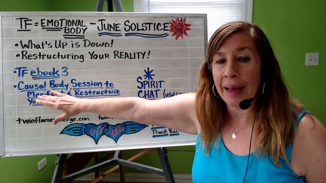 Emotional Body, June Energy & Solstice!!! - Twin Flames