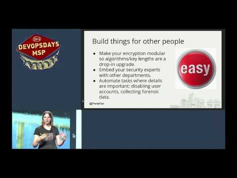 devopsdays Minneapolis 2016 - Megan Carney - How Security Can Win Friends and Influence People