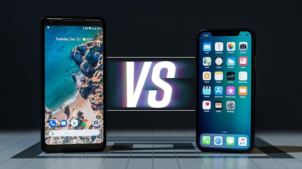 pixel xl 2 vs iphone x