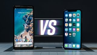 iPhone X vs Pixel 2 XL: We're All Wrong