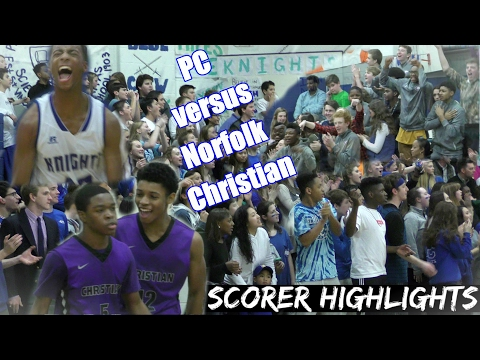 Lamar Claibornes 38 Leads PC to 61-60 Win Over Norfolk Christian at Homecoming Thriller
