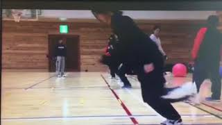 Japan volleyball training