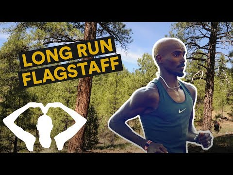 Long Run in Flagstaff! | Mo Farah