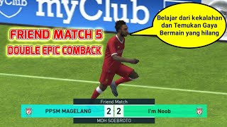 Double Epic Comback | Friend Match 5 Giveaway Pulsa 100k • Pes 2018 Mobile