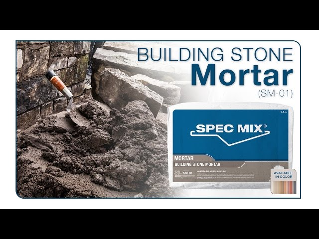 SPEC MIX® Building Stone Mortar