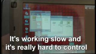 Windows 95 on Pocket PC (Toshiba g900 REALLY WORKING)