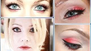 Яркий макияж на День Святого Валентина (2014)