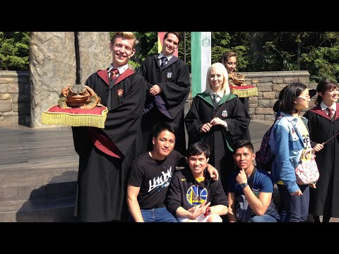 One of the popular tourist destination in osaka japan,universal studio japan vlog13