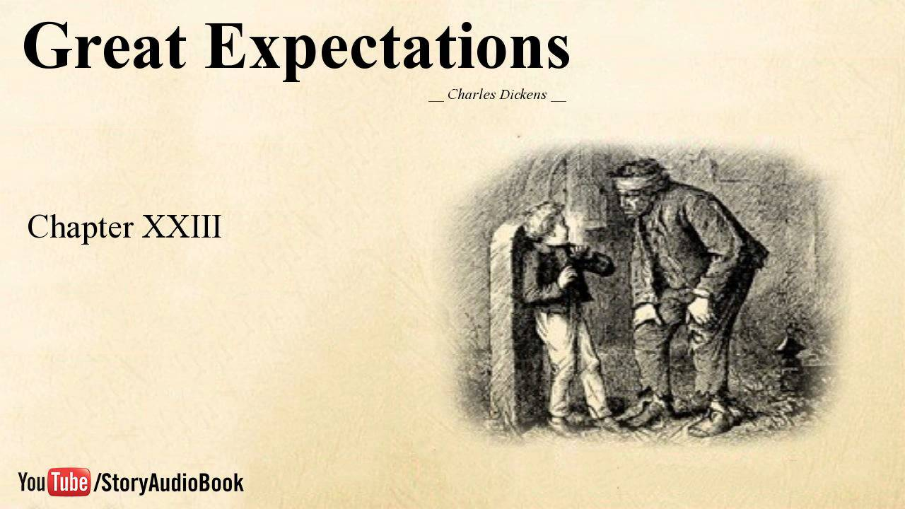 chapter one of great expectations Use these great expectations chapter summaries as a review of the text, as well as a tool to help you keep track of all the characters and events as we all know, charles dickens can get a little wordy.