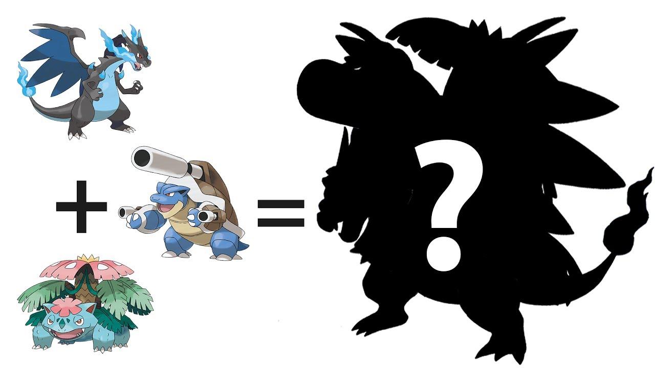 Pokemon Kleurplaten Glaceon.Mega Charizard X Mega Venusaur Mega Blastoise Incredible Pokemon Mega Fusion Evolution 22
