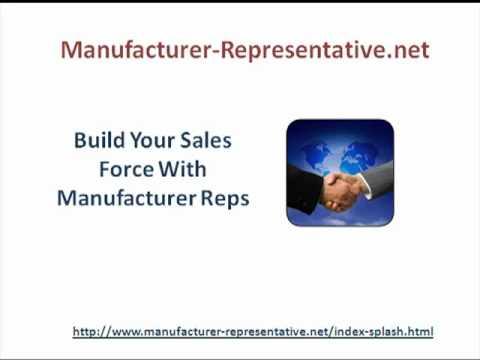 Manufacturer Representative