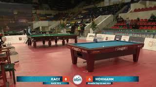Eklent Kaci (ALB) - Hohmann Thorsten (GER) Kremlin Cup 10-ball 2019