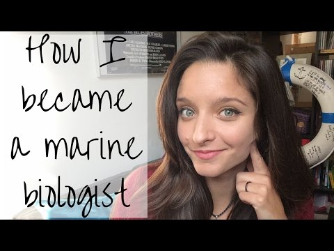 How I became a marine biologist