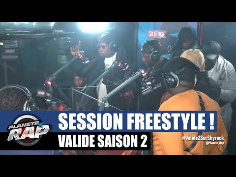 Youtube: GROSSE session LIVE avec Sam's, 100 Blaze, Graya, Elams, Dadinho, SLK, Le So & Dex! #PlanèteRap