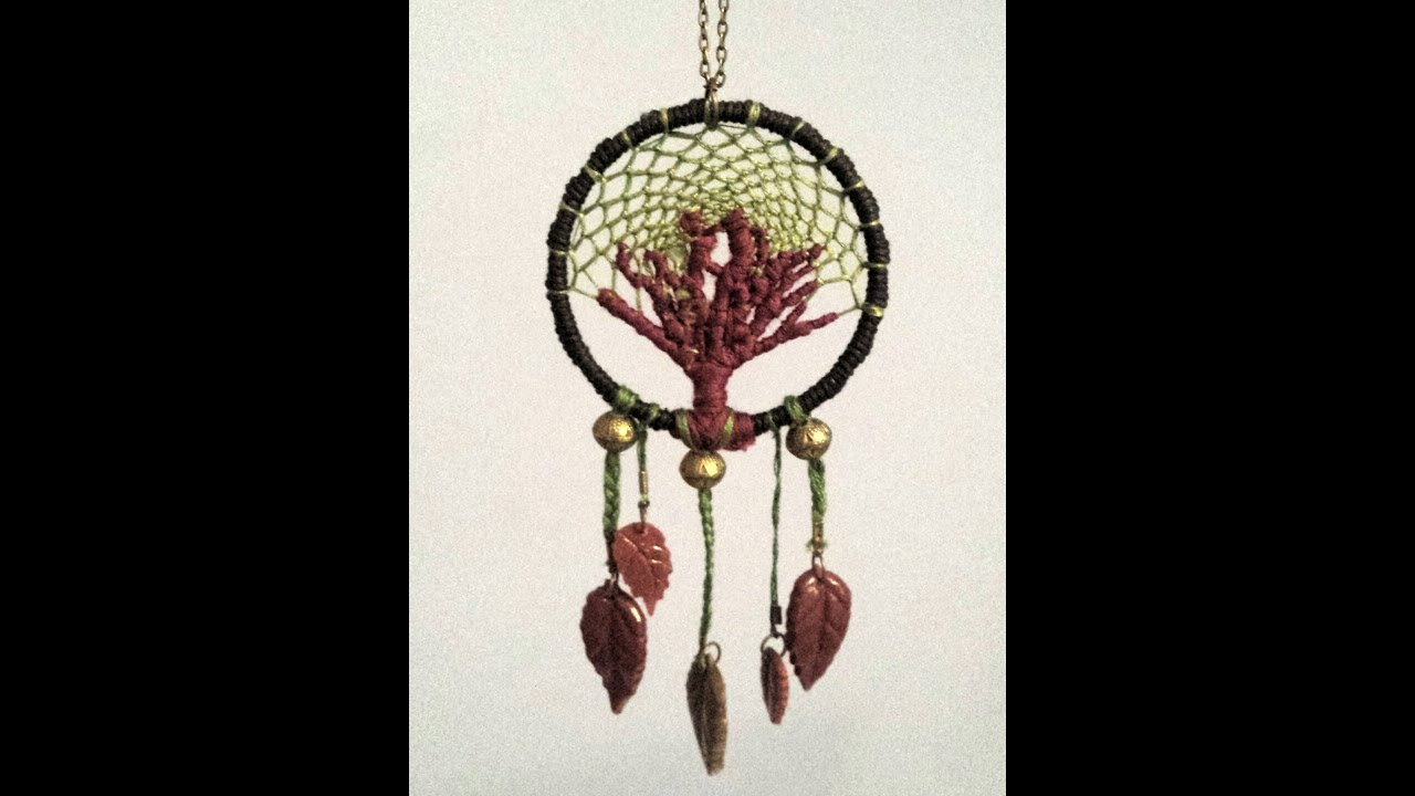 Tuto Dreamcatcher Arbre De Vie Tree Of Life Part 1 Youtube