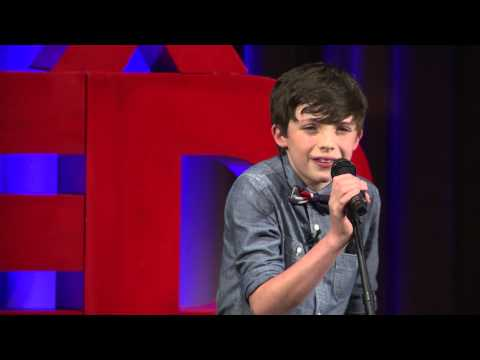 A Boy & Tunes on a Mission to Teach the World to Give | Aidan Thomas Hornaday | TEDxYouth@Cincinnati