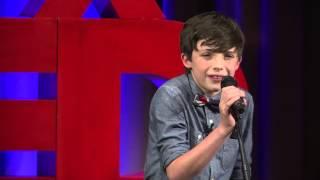 A Boy & Tunes on a Mission to Teach the World to Give | Aidan Thomas Hornaday | TEDxYouth@Cincinnati