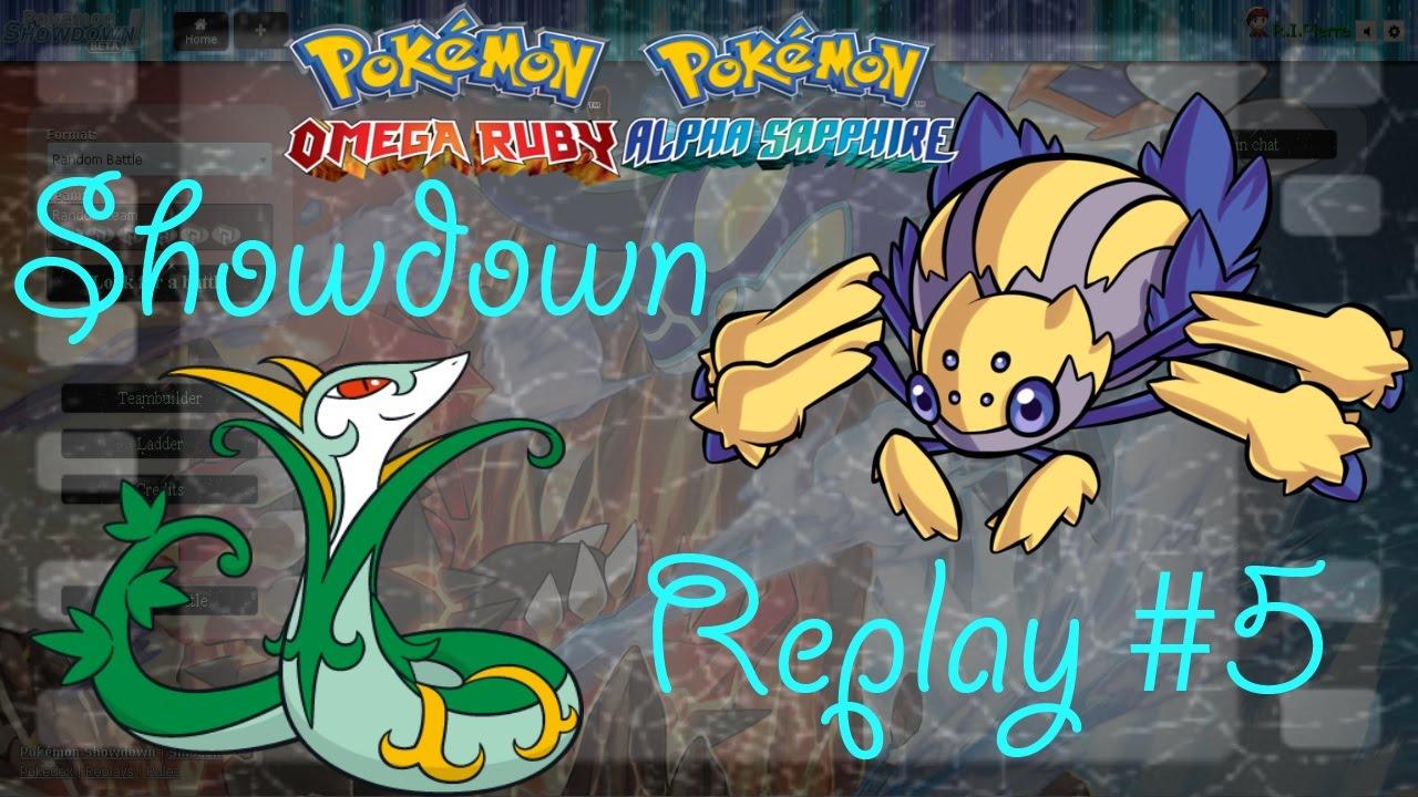Pokemon Showdown ORAS Replay #5 UU Suspect Test: Sticky Situation